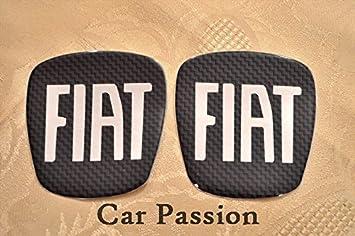SET STEMMI FIAT BRAVO CROMA CARBON LOOK anteriore + posteriore