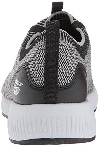 Sneaker alpha Squad Black Donna Skechers Gybk Gal grey Grigio Bobs 61aqxFwIx