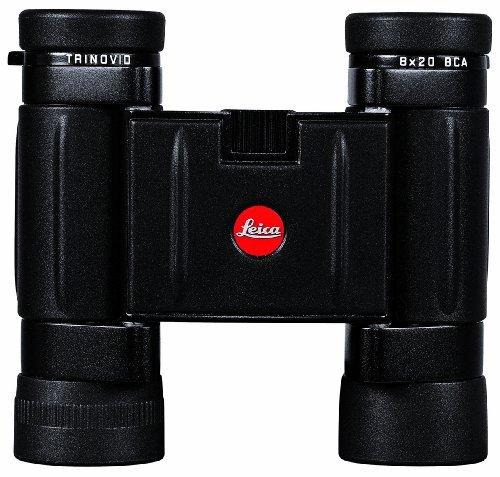 Leica Trinovid BCA 8x20 Binocular with Case Binocular, Black