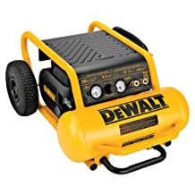 DEWALT D55146 4-1/2-Gallon 200-PSI Hand Carry Compressor with Wheels