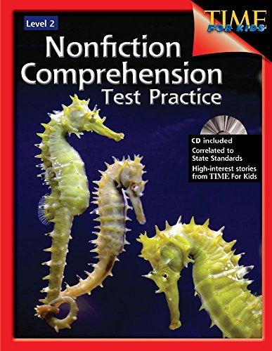 Nonfiction Comprehension Test Practice Level 3: Shell Education ...
