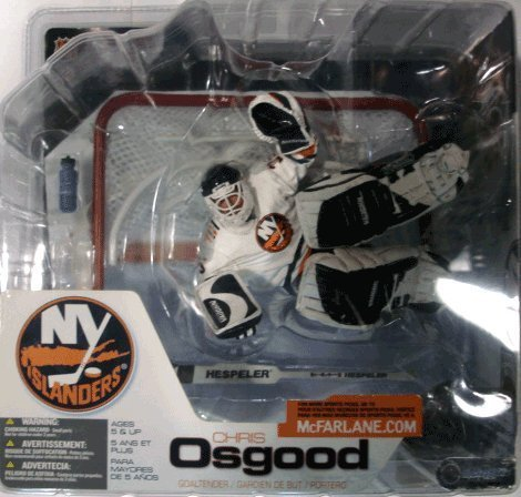 McFarlane NHL Sports Picks Series 3 Action Figure Chris Osgood (New York Islanders) White Jersey ()