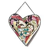 Demdaco Kelly Rae Roberts Kindness Matters Heart Wall Sculpture