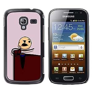EJOY---Cubierta de la caja de protección la piel dura para el / Samsung Galaxy Ace 2 / --Muchacho que come