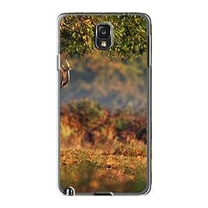 Hot Design Premium RdR1993nrdZ Tpu Case Cover Galaxy Note3 Protection Case(deer Horns)