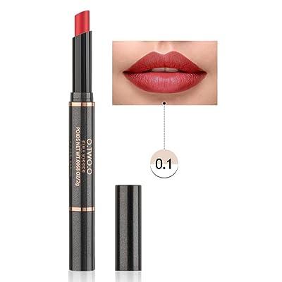12 Colores Profesional Mate Pintalabios de Maquillaje Larga Duracion para Niñas por ESAILQ R
