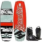 Hyperlite Franchise FLX Wakeboard 135 Mens + Frequency Bindings Sz 8-12