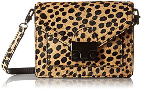 LOEFFLER RANDALL Baby Rider Waist Pack, Cheetah/Black/Shiny, One Size by Loeffler Randall