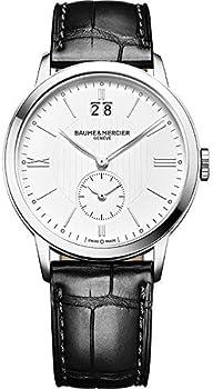 Baume & Mercier Herrenuhr Classima Leather Strap Men's Watch