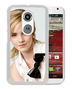 Beautiful Classic Emma Watson Sweet White Case For Moto X 2nd gen