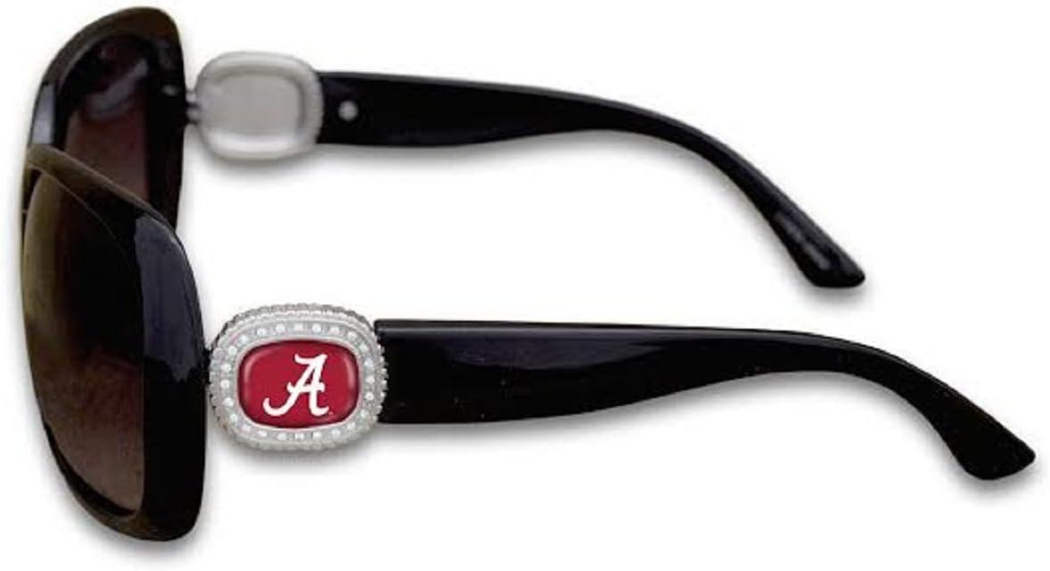 FTH Alabama Crimson Tide Chantilly Sunglasses Embelished with Rhinestone Logo