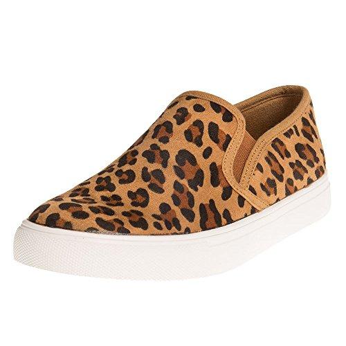 Corkys Footwear Womens Ladies Jungle Casual Slip ONS 9 (Cheetah Footwear)