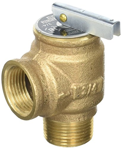 Pentair 072138 3/4-Inch Relief Valve Replacement Pool and Spa Heater