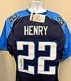 Derrick Henry Tennessee Autograph Custom Jersey JSA