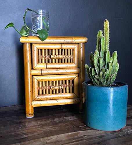 Small Vintage Storage, Mid Century Modern Bamboo Furniture, Bamboo Box, Bamboo Decor, Jewelry Storage, Vintage Storage, Small Storage