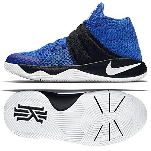 1812b0a8c963 ... online shop dd50f 9de72 Nike Boys Kyrie 2 Grade School Basketball Shoes  Blue Cobalt 826673- ...