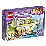 legos friends house - LEGO Friends 41037 Stephanie's Beach House, 369 Pcs