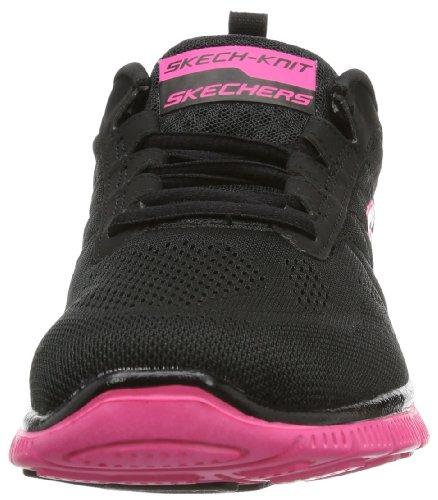 Skechers Sport Kvinders Sweet Spot Mode Sneaker Sort / Hot Pink hr0qJIjIX
