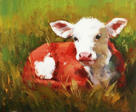 Perfect Effect Canvas ,the High Quality Art Decorative Canvas Prints Of Oil Painting 'Pig In Red Clothes On Grass', 12x15 Inch / 30x37 Cm Is Best For Bedroom Decor And Home Decor And Gifts - Red Alert Ps3