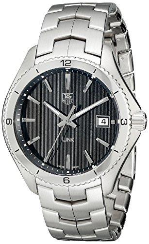 TAG Heuer Men's WAT1110.BA0950 Link Black Dial Watch