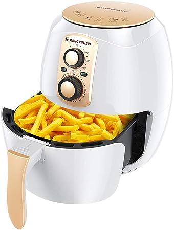 Freidora neumática Hogar 38 l Inteligente de gran capacidad Máquina multifuncional para freír sin aceite Freidora eléctrica Blanco: Amazon.es: Hogar
