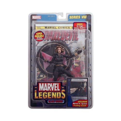 Marvel Legends Series 8 Black Widow Blonde (Variant) Action Figure