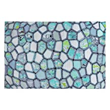 DENY Designs Ingrid Padilla Blue Cells Woven Rug, 2 by 3-Feet