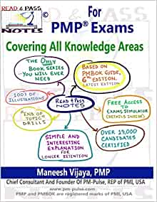 Amazon.com: Read And Pass Notes For PMP Exams (Based On ...