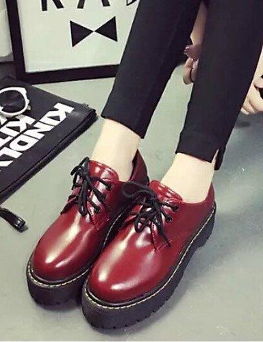 Njx 2016 Damen Damen Damen Schuhe Vintage Preppy Style Low Ferse casual Schuhe Oxford B01KHBLR26 Schnürhalbschuhe Garantiere Qualität und Quantität 85d3d4