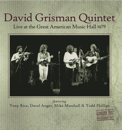 Live At The Great American Music Hall 1979 by Acoustic Disc