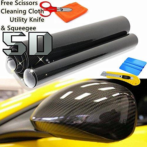 5d-premium-high-gloss-black-carbon-fiber-vinyl-wrap-bubble-free-air-release-free-cutter-scissors-squ
