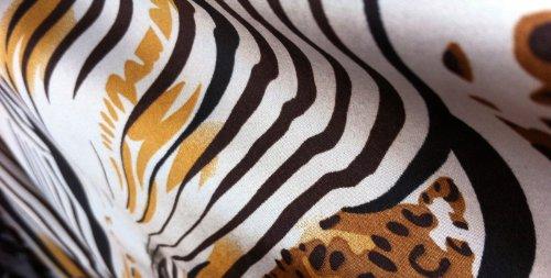 Zebra Satin Fabric - 8