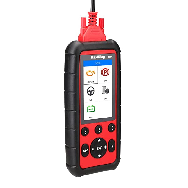 Autel MD802 is undoubtedly one of the best transmission code readers in the market.