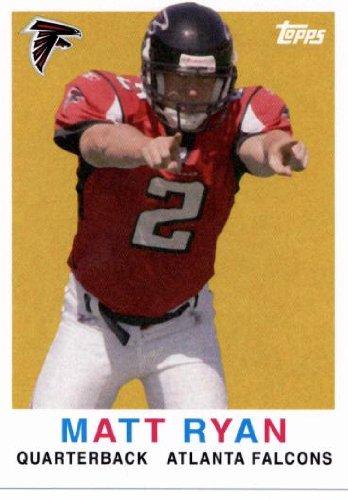 - 2008 Topps Turn Back The Clock #1 Matt Ryan - Atlanta Falcons - Rookie Football Card - Mint Condition - In Protective Display Case!
