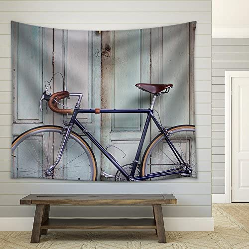 Vintage Bicycle Fabric Wall