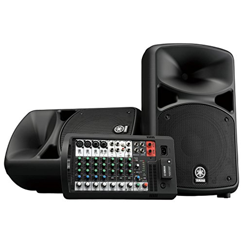 Yamaha STAGEPAS 400BT Portable PA System with Bluetooth by Yamaha