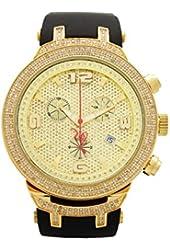 Joe Rodeo Diamond Men's Watch - MASTER gold 2.2 ctw