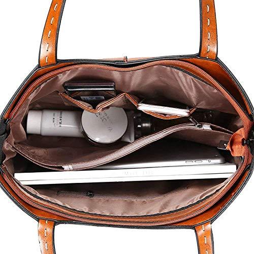 Unidos Estados Messenger Rosado Bolsos Y Handbag Bag Shoulder Europa Retro Moda De Simple wq1RIXT