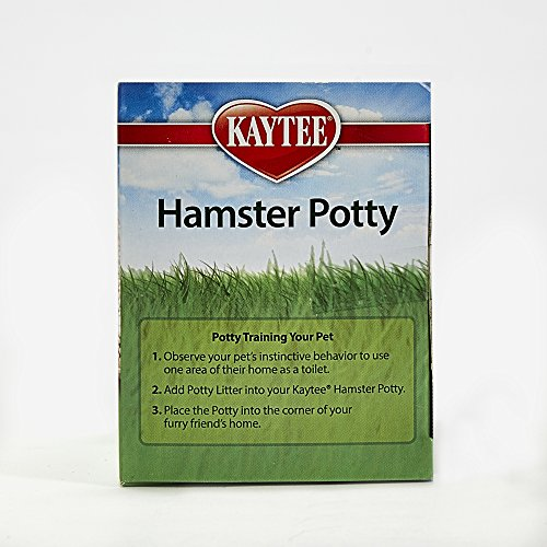 Kaytee Hamster Potty, Colors Vary