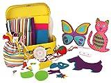 sew cool supplies - Kangaroo's Childrens Sewing Kit, 93 Pieces