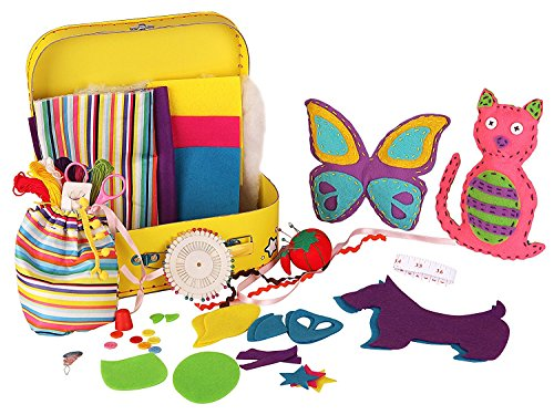 Kangaroo's Childrens Sewing Kit, 93 Pieces