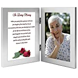 Best Poetry Gifts Aunt Frames - Woman Sympathy Gift, In Loving Memory, Wife, Mother Review