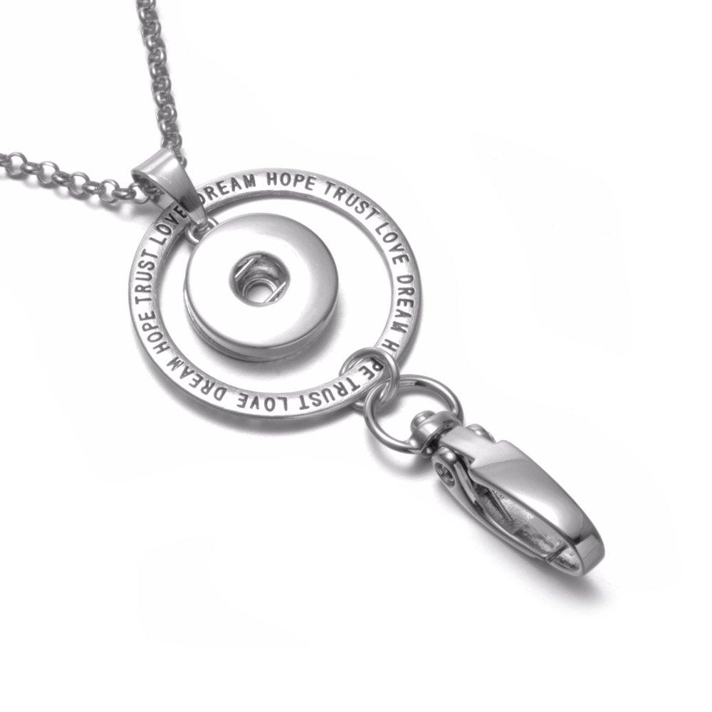 f1d725f9c69a Soleebee - Collar hecho a mano con colgante de joyería