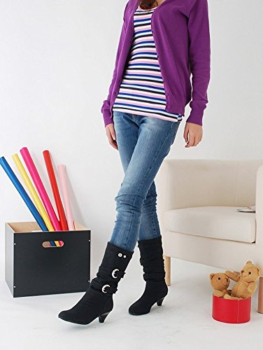 Chaudes Boots Footwear ShallGood Longue Chaussures Bottines Chaussures Sexy Femme Hiver haut Talon Bottes qTATt7Sz