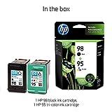 HP 95   2 Ink Cartridges   Black, Tri-color