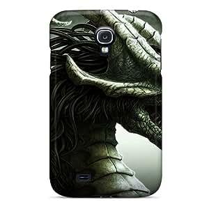 Unique Design Galaxy S4 Durable Tpu Case Cover Dragon