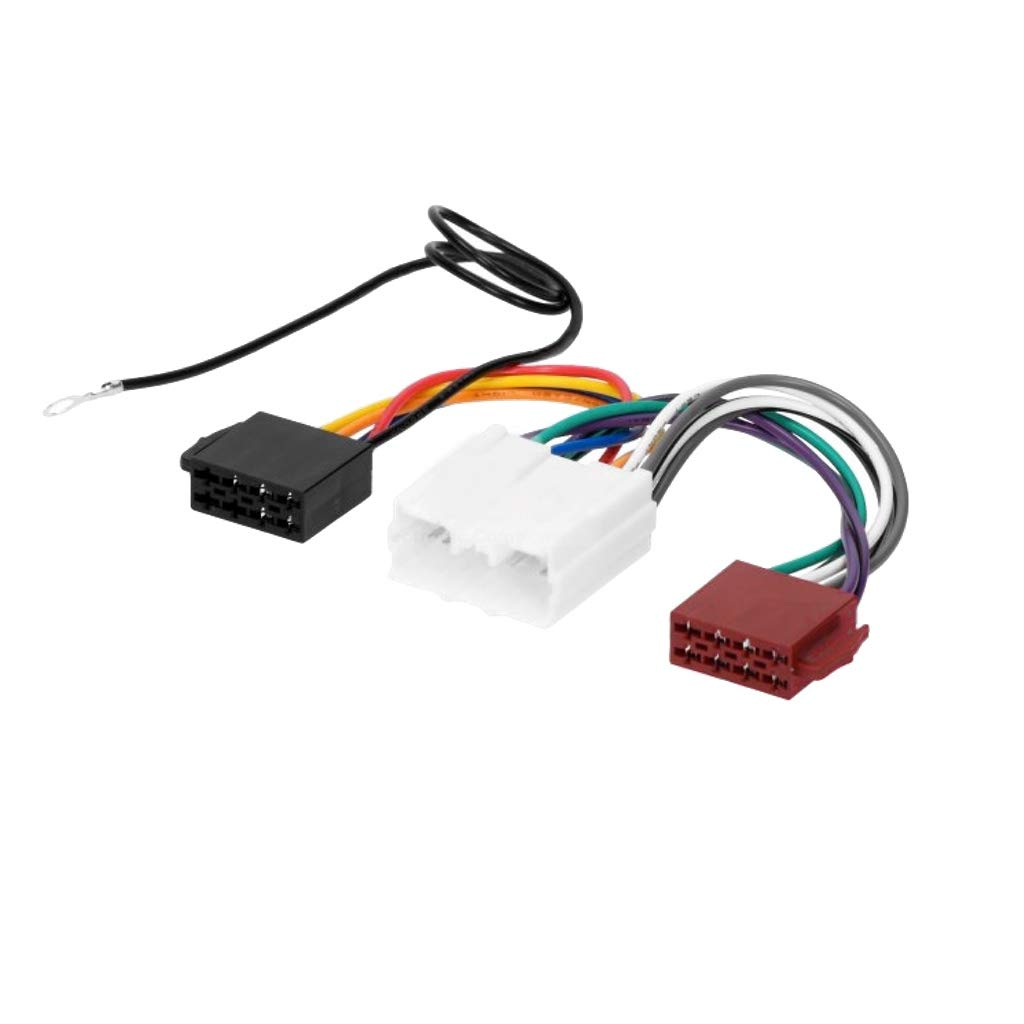 Mitsubishi ISO Faisceau de c/âblage connecteur adaptateur pour autoradio