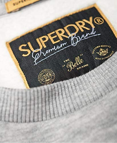 Superdry Sweatshirt Damen Alice Crew Sand Grey Marl