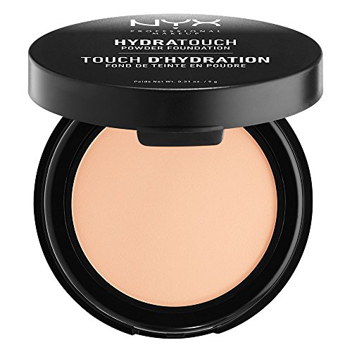 0.31 Ounce Foundation - NYX PROFESSIONAL MAKEUP Hydra Touch Powder Foundation, Beige, 0.31 Ounce