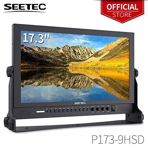 Color Broadcast Monitor Video (SEETEC P173-9HSD 17.3 Inch 1920x1080 Desktop Monitor for Broadcast LCD Monitoring with 3G-SDI HDMI AV YPbPr)